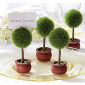 Topiary Place Card Holder Wedding Favor