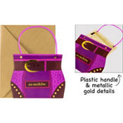 Hip Handbag Jumbo Invitations 8ct