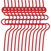 Valentines Day Krazy Straws 12ct