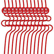 Valentine's Day Krazy Straws 12ct