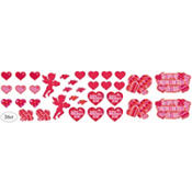 Premium Valentines Day Cutouts 36ct