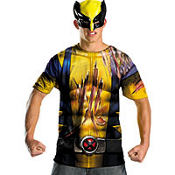 Adult Wolverine T-Shirt and Mask