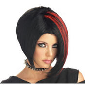 Mood Swing Red/Black Wig