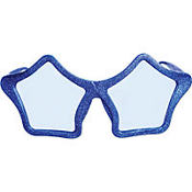 Blue Star Party Sunglasses