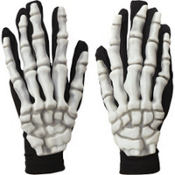 Adult Glow in the Dark Skeleton Gloves