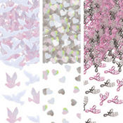 Wedding Dove Metallic Confetti 1.2oz