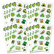 St. Patricks Day Tattoos 120ct<span class=messagesale><br><b>6¢ per piece!</b></br></span>