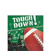 Football Frenzy Beverage Napkins 100ct