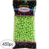 Kiwi Green Chocolate Sixlets 450pc