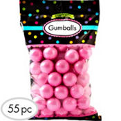Light Pink Gumballs 55pc