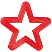 Star Cookie Cutter 4in