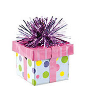 Pink Gift Pack Balloon Weight 6oz