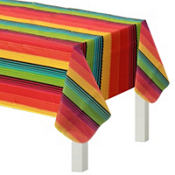 Fiesta Flannel-Backed Vinyl Table Cover 52in x 70in