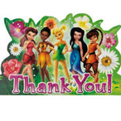 Tinker Bell and The Fairies Thank You Notes 8ct