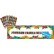 Personalized Luau Banner 65in