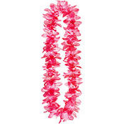 Pink Beaded Tiger Lily Lei 40in