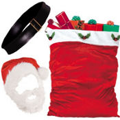Adult Santa Accessories Set