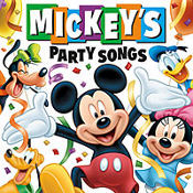Mickey's Party Songs CD