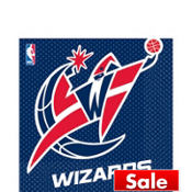 Washington Wizards Lunch Napkins 16ct