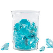 Robin's Egg Blue Diamond Scatters 8 1/2oz