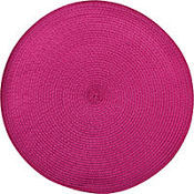 Raspberry Round Placemat 14in