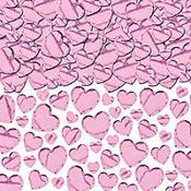 Pink Heart Confetti
