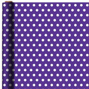 Jumbo Purple Polka Dot Gift Wrap