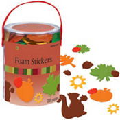 Fall Deluxe Foam Sticker Kit 285ct
