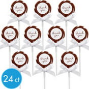 Chocolate Brown Lollipop Kit 24ct