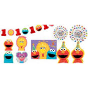 Sesame Street 1st Birthday Decoration Kit