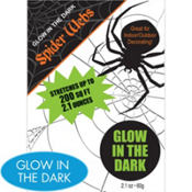 Glow in the Dark Spider Web 2.1oz