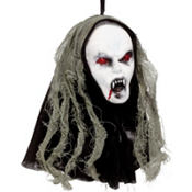 Hanging Vampire Head 8in