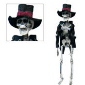 Hanging Groom Skeleton 19in
