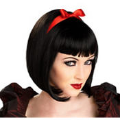 Twisted Fairytale Black Wig