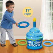Boys Ring Toss Game 1st Birthday