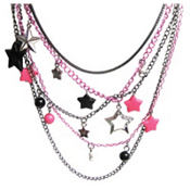Multi Chain Star Necklace
