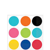 Bold Polka Dots Beverage Napkins 16ct