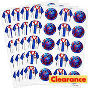 Bowling Stickers 4ct