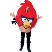 Adult Red Angry Birds Costume