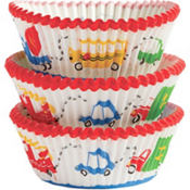Wheels Baking Cups 75ct