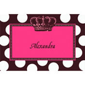 Rocker Princess Custom Thank You Note