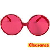 Glamorous Red Sunglasses