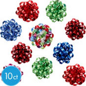 Candy Colors Mini Bows 2 3/8in 10ct