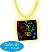 SpongeBob Necklace with Glow Pendant