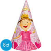 Pinkalicious Party Hats 8ct