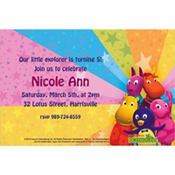 The Backyardigans Custom Invitation