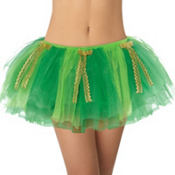 Adult St. Patricks Day Tutu with Bows