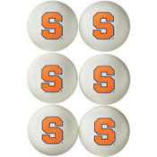 Syracuse Orange Ping Pong Balls 6ct