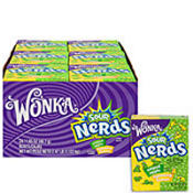 Wonka Lemon Apple Sour Nerds 24ct