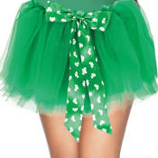 Child Shamrock Cutie Tutu with Bow